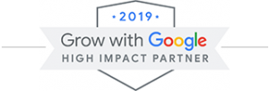Grow with Google, high impact partner badge